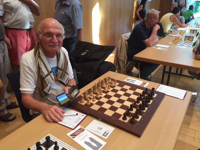 Karl Heinz vor Runde 1